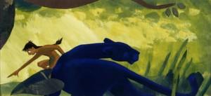 Mowgli und Bagheera
