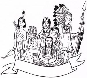 Indianer damals