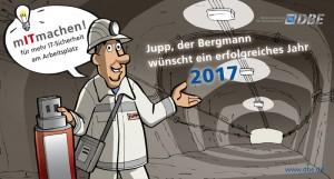 Wandkalender mit Sympathiefigur für DBE Peine