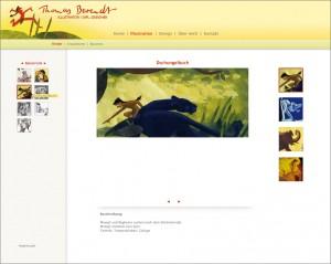 Webseitenentwurf