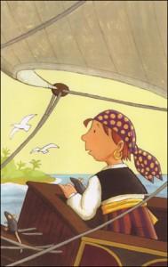 """Cover für Kinderroman """"Flip - der kleine Pirat und der große Schatz"""""""