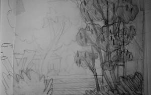 Ein Essigbaum vor dem Fenster wäre gut