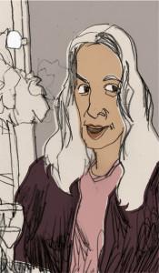 Bernadette Lafont - frz. Schauspielerin, frei nach einer Dokumentation auf arte.