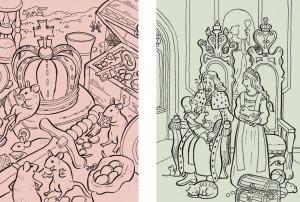 Minimalpaar: Krone - Throne