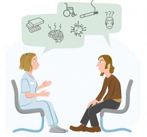 Zum Thema Beratung bei Multiple Sklerose, eine Krankheit mit vielen Gesichtern