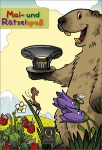 Malbuch Cover