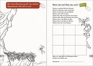 Malbuch Seite 16-17