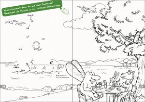 Malbuch Seite 18-19