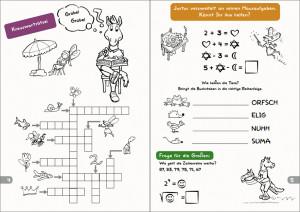 Malbuch Seite 4-5