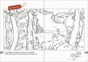 Malbuch Seite 6-7
