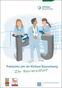 Broschüre vom Klinikum Braunschweig zum Thema Praktisches Jahr.