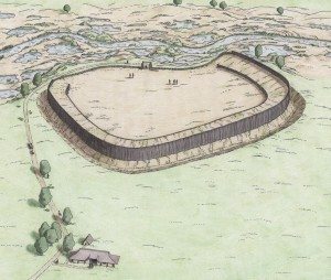 Frühmittelalterliche Befestigungsanlage, Sittensen, Niedersachsen