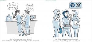 Sexuelle Belästigung/Nicht Anerkennen von Vorschriften