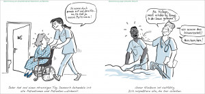 Diskriminierung von schwerbehinderten Patient/innen/Diskriminierung wegen ethnischer Herkunft