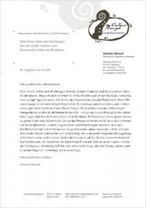 Dieser Briefbogen-Entwurf wurde in FreeHand 10 erstellt