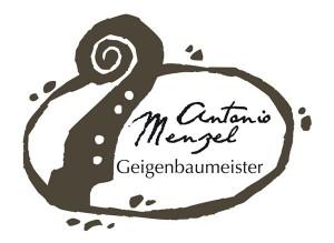Dieser Logo-Entwurf für einen Geigenbauer wurde von Hand skizziert und in FreeHand 10 gezeichnet