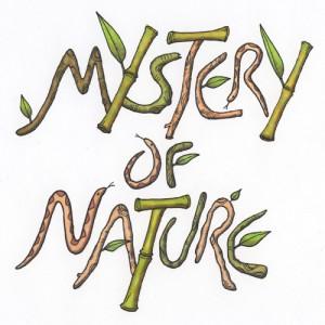 Titelzeichnung für eine Naturfilm-Parodie (Copic-Fine-Liner, Marker)